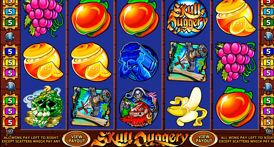 Skull Duggery Casino Slot – Pirates Ride