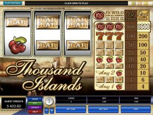 Thousand Island casino game